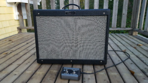 Make an offer! Fender Hotrod Deluxe 3 Tube Amp w/footswitch