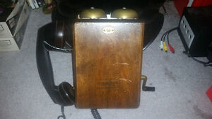 Vintage 1935 Northern electric 2X bell phone! TEXT 2264489639...