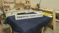 Toronto maple leafs custom valance