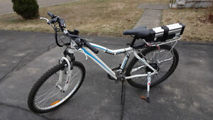 36v Raleigh Ebike with Lithium battery - Lightly Used