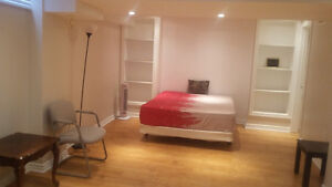 CLEAN AND FURNISHED ONE BEDROOM WITH BATH.