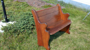 Antique NL Pine Church Pew - Only few left !!!