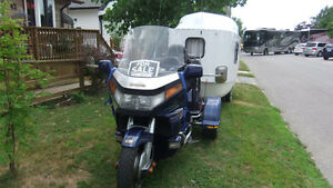1988 Honda Goldwing Trike and camper Windsor Region Ontario image 2