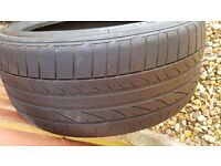 2 &1 free!! 225/40/18 ASAP!! Run flat Bridgestone