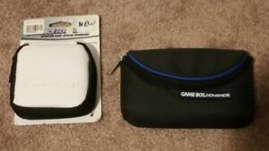 2 Brand New GameBoy Advance Carrying cases. Rare!