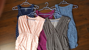 Maternity tanks and tops size S