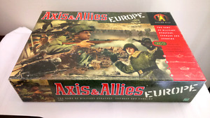 Axis and Allies Europe Board Game Complete except Dice
