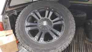 22inch XD RIMS AND TIRES sell or trade