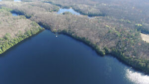215 Acres w/ 9600 ft of Waterfront on Brough Lake