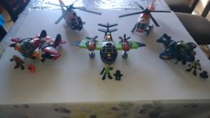 Lot de jouets Fisher-Price et Tonka