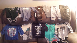 Baby boys clothes from Carters