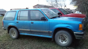 1994 Ford Explorer SUV, Crossover