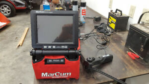 Marcum VS825 sd colour underwater fishing camera with remote pan