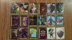 Legend of Zelda trading cards and tags 2016/2017 Enterplay