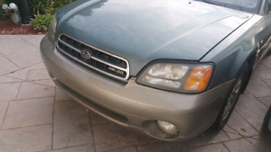 Subaru Outback H6 3.0 L VDC + VTD top of the line.