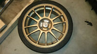 "17"" 4-100bolt pattern Yokohama 205/40/17 ZR"