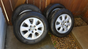 Michelin tires and rims (4)