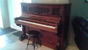 Piano antique (année 1891) Northeimer et co.