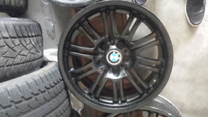 "M3 BMW E46 18"" Rims Black"
