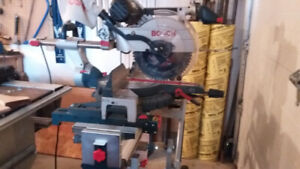 Bosch Mitre Saw with stand