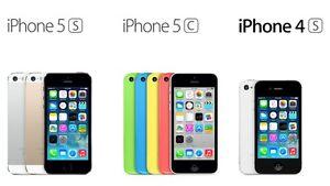 réparation écrans lcd iphone 5 et plus $45.00