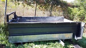 aluminum dump box unit