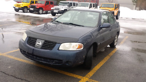 2005 nissan sentra 1.8 special edition automatic