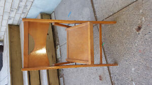 Antique Childs wooden folding chair Kawartha Lakes Peterborough Area image 1
