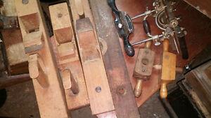 3 Anciens coffres avec TOUS outils de menuisier charpentier ! Saguenay Saguenay-Lac-Saint-Jean image 10