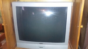 "37"" tube TV with remote"