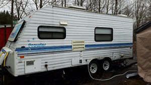 21' Travel trailer by Prowell