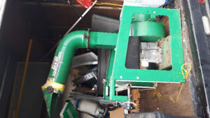 Billy Goat debries loader in good condition.  $1,900