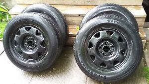 205-70-15 tires with rims 5x114.3 bolt pattern