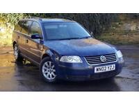 Volkswagen Passat 2.0 2003MY SE - LASTOWNER 10 YEARS