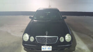 2003 Mercedes-Benz E-Class 320 emission tested Sedan