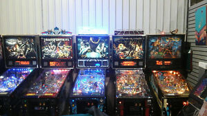 PINBALL MACHINES  ,MANY LIMITED EDITION,  HUO, FULL LED