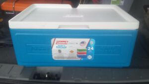 Coleman cooler (24 can stacker)