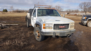 REDUCED 1994 GMC 3500 6.5 dually needs transmission