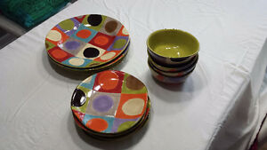 Pier one urban dot dishes