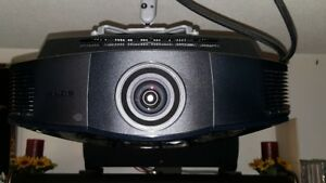 Sony VPL-HW15 projector and screen for sale