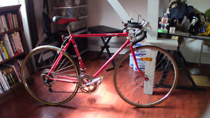 Vintage Road Bike 21'' frame, all tuned up and ready to ride!