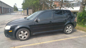 08 VW City Golf for sale