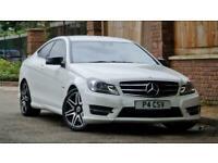 2012 Mercedes-Benz C-CLASS 1.8L C250 BLUEEFFICIENCY AMG SPORT PLUS 2d AUTO 202 B