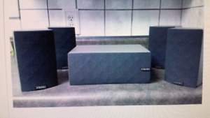 5 PACK SURROUND SPEAKERS