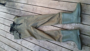 Size 11 hip chest waders