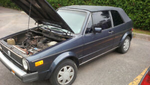 Classic VW Cabrio Looking for Good Home