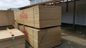 Plywood for sale 4x10 sheets 3/4 and half inch