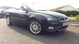 2007 07 FORD FOCUS CONVERTIBLE/CABRIOLET CC 2.0TDCi CC-3.STUNNING LOOKING CAR .