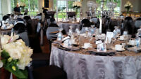 Elegant Touch Chair Cover & Linen Rentals starting @ 1.50ea & up