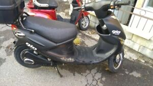 Scooter Electrique Gio 20a payer 1300.00
